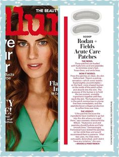 More Free Ads- Rodan + Fields Acute Care Patches are featured in Allure Magazine. Read why this beauty Editor likes this product. https://lizsmithstyle.myrandf.com/