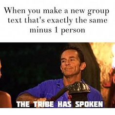 And the guilty pleasure of creating a new group chat minus that one annoying person. | 27 Things Everyone Who Has Been In A Group Chat Will Understand