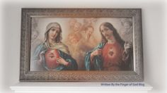 Written By the Finger of God: Why Mary's Portrait Hangs on a Catholic Home Prayer For Family, Queen Of Heaven, Immaculate Conception, Holy Family, Blessed Mother, Mother Mary, The Covenant, Gods Love, Jesus Christ