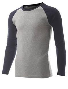 FLATSEVEN Men's Casual Long Sleeve Cotton Crewneck Baseball T Shirt (TR100) Navy and Grey, L FLATSEVEN http://www.amazon.com/dp/B00RGUDEIM/ref=cm_sw_r_pi_dp_lCl1ub0W3JNK1