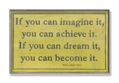 The Stupell Home Decor Collection If You Can Imagine It Inspirational Wall Plaque $10.01 Classic inspiration from stupell Made in the usa Original stupell art work Hand finished with hand painted edges Sturdy mdf fiberboard