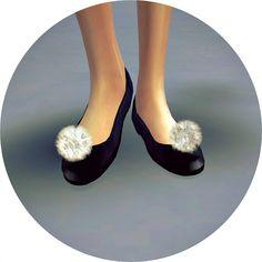 PomPom Basic Flat Shoes at Marigold • Sims 4 Updates