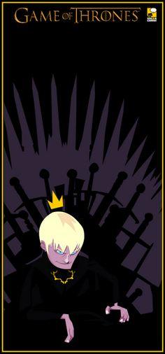 King Joffrey Baratheon by Salba Combe #got #agot #asoiaf