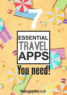 7 Apps That Will Change Your Life While Travelling - Hand Luggage Only - Travel, Food & Home Blog