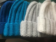 Which is for a handmade crocheted chunky ribbed beanie. Ball band included for washing directions. Machine washable and able to cool tumble dry. Ready made in paintbox acrylic wool/yarn. Any further item will be included free. Hand Crochet, Crochet Top, Knitted Hats, Crochet Hats, Hand Knit Scarf, Acrylic Wool, Wool Yarn, Hand Warmers, Beanie Hats