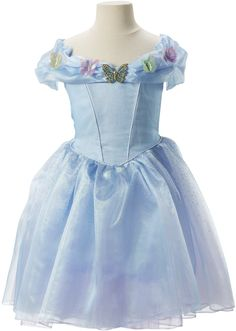 Disney Cinderella Ella Blue Dress Costume: Amazon is offering this Disney Cinderella Ella Blue Dress Costume for only… #coupons #discounts