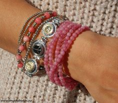 Armcandy Pink 01 from Loika. NOK 529.-  www.smykkeboden.no