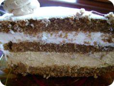 Tejszínes-karamell torta recept fotója