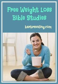 Do you struggle to lose weight and keep it off? This weight loss Bible study will help! Online weight loss Bible studies also available.