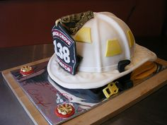 DDpiesSlice: Fire Chief's Helmet Cake there are 4 parts so be sure to click all of it.