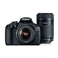 Câmera Canon EOS Rebel T5 PREMIUM com Lente 18 - 55mm + 55 - 250mm