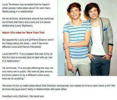 YES thank you. Larry was never real!