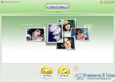 Ultraslideshow Lite : un logiciel gratuit pour faire des diaporamas flash