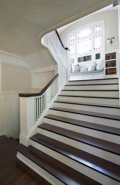 Georgian Style - traditional - staircase - minneapolis - Streeter & Associates, Renovation Division