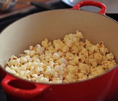 Our foolproof technique for making homemade popcorn calls for nothing more than oil, popping corn, and a hot dutch oven.
