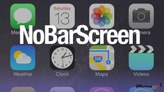 NoBarScreen: Take iPhone Screenshots without Status bar