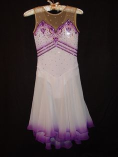 Designs by Elena - Russian Ice Skate - Custom Skating Dress