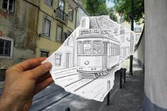 Top 26 du combat « dessin VS photo » illustré par Ben Heine
