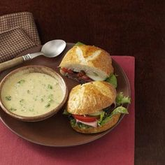 Cheddar Broccoli Soup Recipe from Taste of Home -- this recipe is quick! Shared by Louise Beatty of Amherst, New York