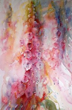 Foxgloves Jean Haines