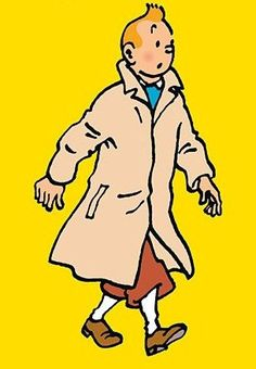 Tintin // the iconic image!
