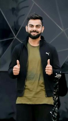 Buzzzfly brings for you the facts which are related to the Virat Kohli life. Here you get the Virat Kohli photo, unique facts in Hindi, Virat Kohli brand val. India Cricket Team, World Cricket, Cricket Sport, Anushka Sharma And Virat, Virat Kohli And Anushka, Wallpaper Indian, Virat Kohli Quotes, Virat Kohli Beard, Virat Kohli Instagram