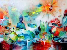 Tracy Verdugo. 2014. The Universe is Within You. Sold. http://artoftracyverdugo.blogspot.com