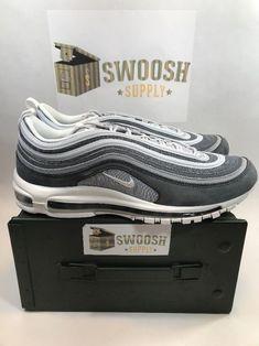 pretty nice 35f66 8c9c7 Nike air max 97 premium wolf grey summit white 312834-005 new size 13