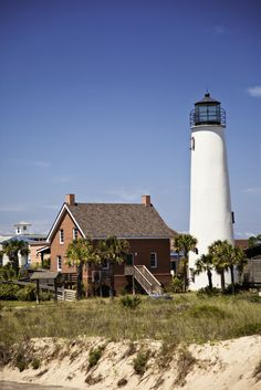 Lighthouse in Apalachicola, Florida