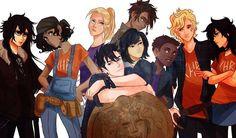 Genderbent Heroes of Olympus