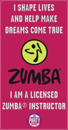 I'm a fledgling instructor with a fledgling class, but a girl has to start somewhere.  I am very proud to say that I AM A ZUMBA INSTRUCTOR!