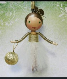 Chistmas doll ornament