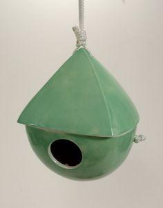 ceramic birdhouse :)