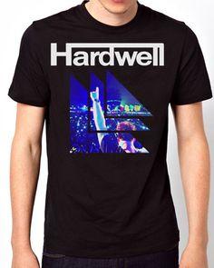 New Design Hardwell Trance House Music Logos Men Black T-Shirt