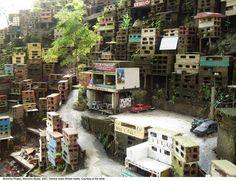 Morrinho: Art in the Favela - Everett Potter's Travel Report Travel Report, Childhood Games, Habitats, Art Projects, The Neighbourhood, Brick, Construction, Cabin, Architecture