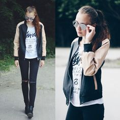 More looks by Willa Cherrybomb: http://lb.nu/willawonderland  #casual #edgy #street