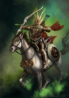 1st Horseman of the Apocalypse:  Conquest  (White Horse)