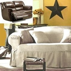 Superbe Recliner Sofa Slip Cover Diy Sofa Cover, Couch Covers, Couch Slipcover,  Slipcovers,