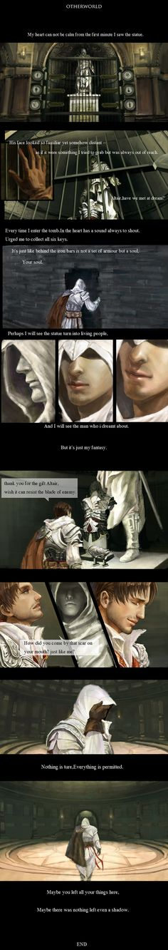 Ezio and Altair's armor.