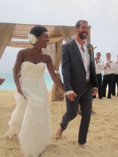 Beach Wedding || #bwwm #wmbw