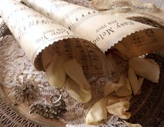 Believe in Love. Antique Sheet Music Wedding by TheDreamPeddlery