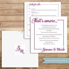 hochzeit einladung   wedding invitation   save the date   maritim, Einladung