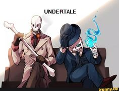 papyrus, sans, gangster, mob, undertale I find them both really attractive in this... especially Sans... I'm definitely going to hell... Oh well!! Who cares!!