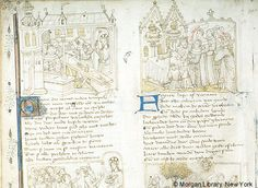 Vita Christi (Life of Christ), MS M.649 fol. 4v - Images from Medieval and Renaissance Manuscripts - The Morgan Library & Museum
