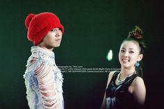 Lovely couple I ever seen :(( Gd Bigbang, Daesung, G Dragon Top, Sandara Park, Park Photos, Jiyong, 2ne1, Fangirl, Crochet Hats