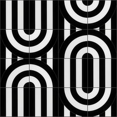 Arc Viva Polished Porcelain by Elizabeth Sutton Pattern 1 Who Is A Mother, Trippy Designs, Decorative Wall Tiles, Estilo Art Deco, Fluid Design, Unique Flooring, Commercial Flooring, Wall And Floor Tiles, Black And White Colour