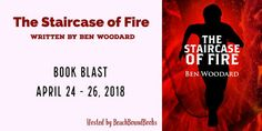 The Book The Staircase Of Fire by Ben Woodard Book 3 in the Shakertown Adventure series Genre: young adult mystery Abo. Fire Book, My Books, Mystery, Author, Writing, Reading, Memes, Blog, Giveaways