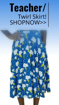 Twirl skirt #teacher #schoolteacher sponsored