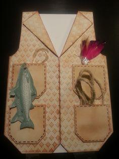 eine schöne Grußkarte für Angler