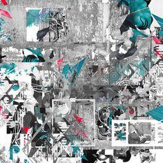 12th Day / geometric art/ abstract art /contemporary art/ modern art/ urban art / street art / digital collage /